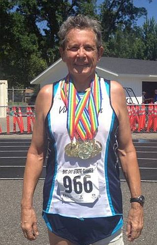 Larry Williams of St. Croix Wins Five Gold Medals in Montana